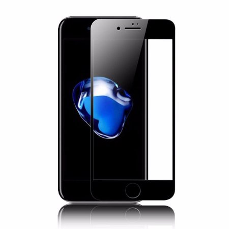 Película De Vidro Temperado 3D Iphone 7 - Preta