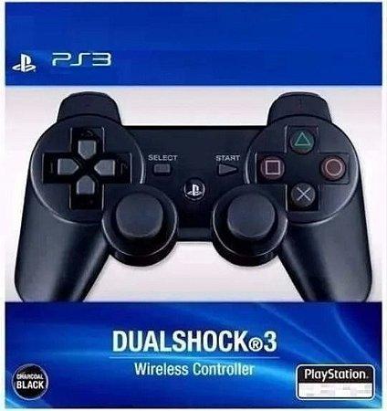 Controle Joystick Sem Fio Para Playstation 3 -  Ps3