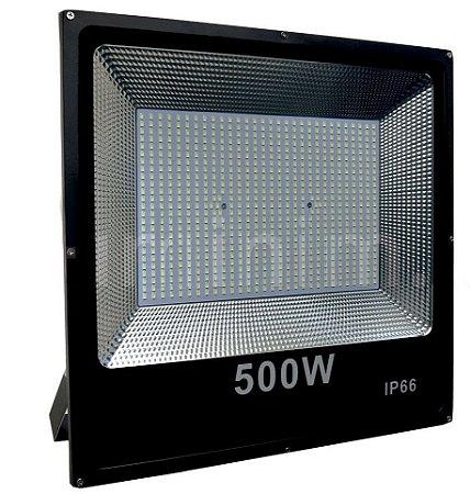 Refletor Micro LED Slim 500W Branco Frio