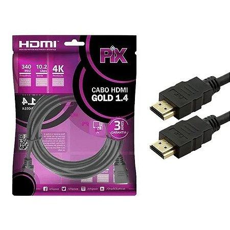 Cabo Hdmi 15 Metros V1.4 Ultra Hd 4k - Pix 018-1514