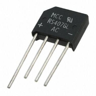 Ponte Retificadora RS407 - 4A/1000V