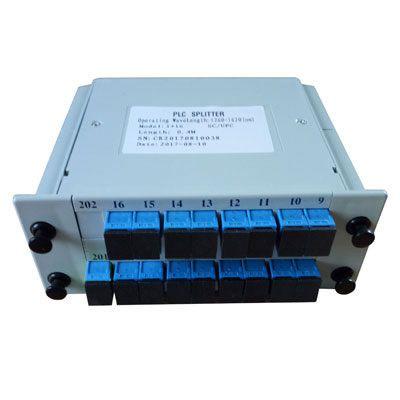 Splitter Óptico Modular Plc 1 x 16 Balanceado Sc/Upc