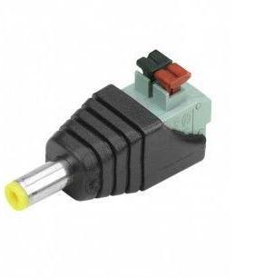 Conector P4 2.5mm Borne Macho Engate Rápido - 1 Unidade