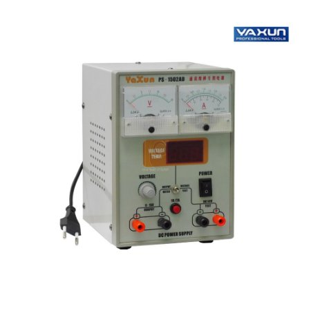 Fonte Assimétrica De Bancada 0-15V 2A - Yaxun 1502AD - 220V