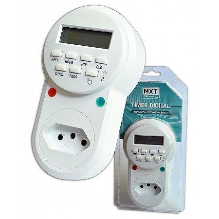 Timer Temporizador Digital 8 Programas  - Bivolt 10a