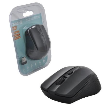 Mouse Wireless Sem Fio 1600Dpi 2.4Ghz G-211 Preto