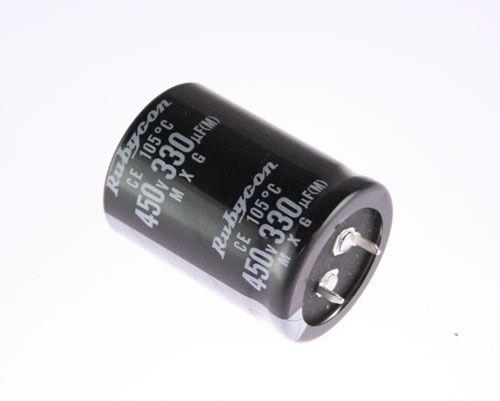 Capacitor Eletrolítico 330uf 450V 105 Graus - 330x450-105