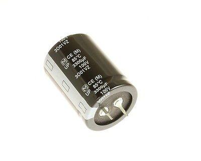 Capacitor Eletrolítico 3300uf 100V 105 Graus - 3300x100-105