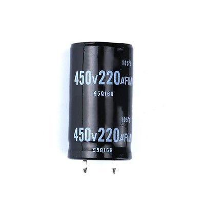 Capacitor Eletrolítico 220uf 450V 105 Graus - 220x450-105