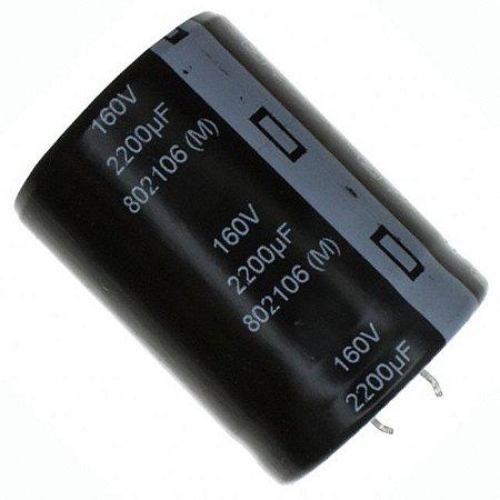 Capacitor Eletrolítico 2200uf 160V 105 Graus - 2200x160-105