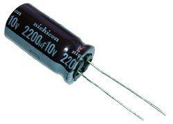 Capacitor Eletrolítico 2200uf 10V 105 Graus - 2200x10-105