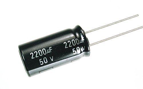 Capacitor Eletrolítico 2200uf 50V 105 Graus - 2200x50-105