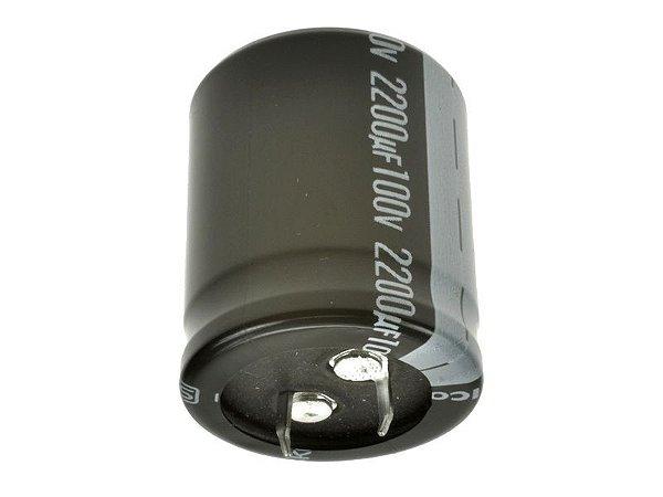 Capacitor Eletrolítico 2200uf 100V 105 Graus - 2200x100-105