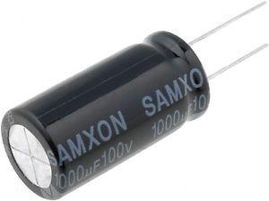 Capacitor Eletrolítico 1000uf 100V 105 Graus - 1000x100-105