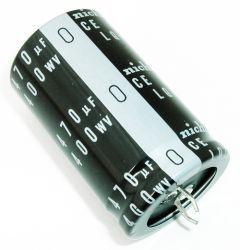 Capacitor Eletrolítico 470uf 400V 105 Graus - 470x400-105
