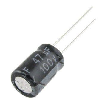 Capacitor Eletrolítico 47uf 100V 105 Graus - 47x100-105