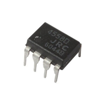 C.i. - Circuito Integrado RC 4558P (DIP-8)