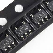 C.i. - Circuito Integrado LG33 | MIC5219-3.3YM5  | MIC5219 (SOT23-5)