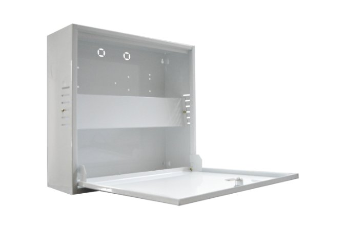 Rack Organizador Para Cftv Vertical Light (Sem placa)
