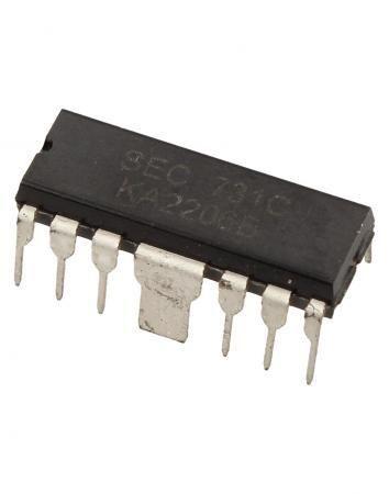 C.i. - Circuito Integrado KA2206B - (DIP-12)