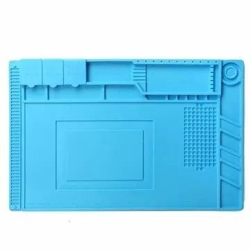 Manta Magnética Antiestática Silicone Azul Yaxun S-160 | 300x450mm