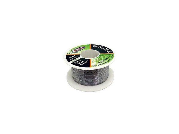 Solda Estanho Super Fino 0.3mm SN63 PB37 40g  - YAXUN YX0.3A