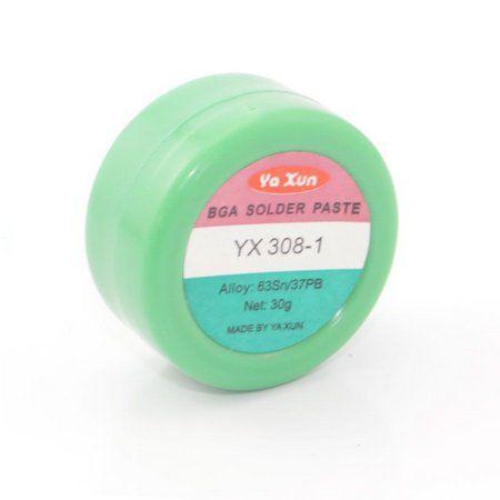 Solda Em Pasta Yaxun YX-308 Com 30 Gramas - SN63 PB37