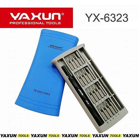 Kit Chaves Ferramentas Yaxun Yx-6323 Alta qualidade - 22 em 1