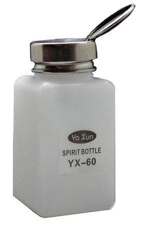 Dispenser Pote Álcool Isopropílico 180ml Yaxun Yx-60