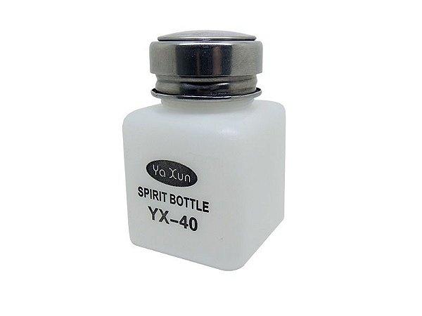 Dispenser Pote Álcool Isopropílico 120ml Yaxun Yx-40