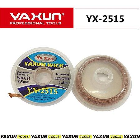 Malha Dessoldadora Yaxun Yx-2515 | 2,5mm 1,5m