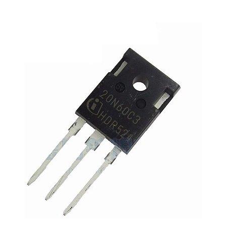 Transistor Mosfet 20N60C3 | (TO-247)