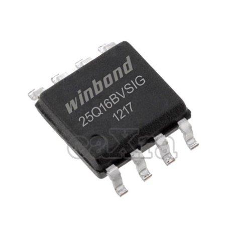 Memória Flash Winbond W25Q16BVSSIG   W25Q16   W25Q16BVSIG (SOP-8)