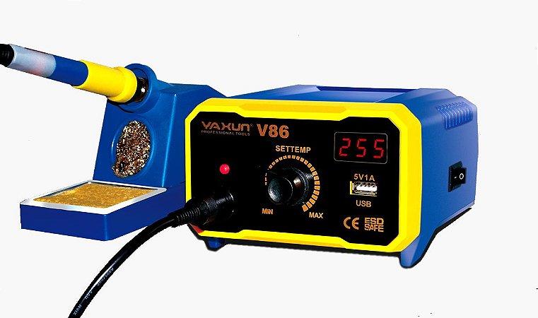 Estação De Solda Yaxun V86 55W 220V - Profissional