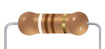 Resistor CF - 910R 5% 1/4W Axial