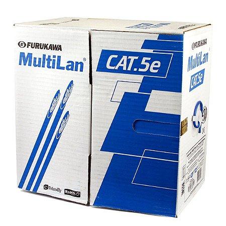 CABO DE REDE AZUL CAT5E FURUKAWA MULTILAN - 1 METRO