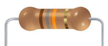 Resistor CF - 18K 5% 1/4W Axial