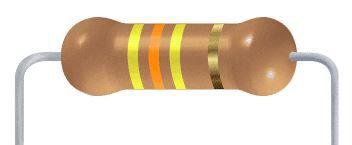 Resistor CF - 430K 5% 1/4W Axial