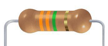 Resistor CF - 3.3M 5% 1/4W Axial