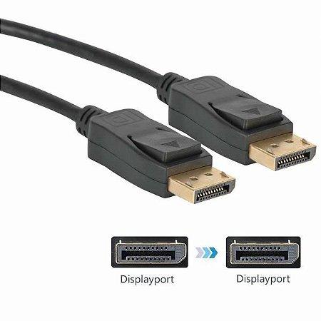 Cabo Displayport 1.8 Metros v1.2 2160p - Antek