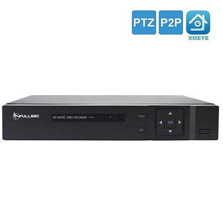 Dvr HD 8 Canais 5 Em 1 1080N P2p Cloud FS-XVR-5008N Fullsec