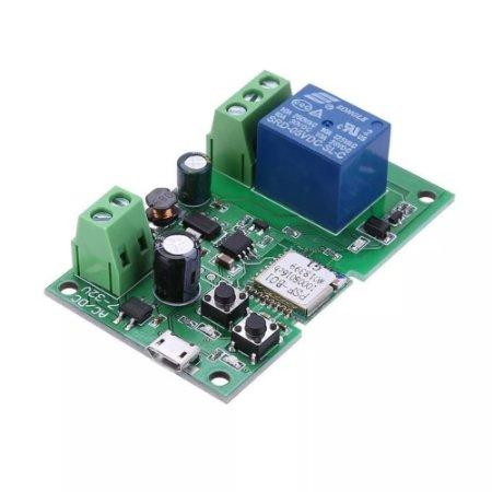 Interruptor Wifi Sonoff Pulso 5V 12V 24V 32V - Ideal Para Portões