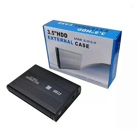 Case Para Hd sata 3.5 - Usb 2.0