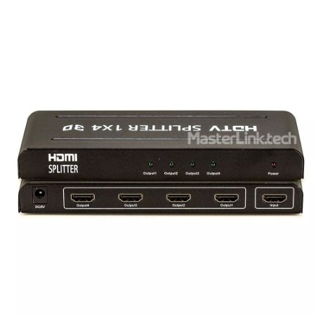 Distribuidor Splitter Hdmi 1x4