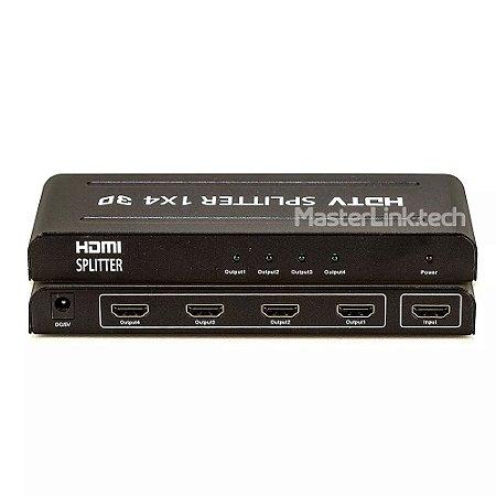 Distribuidor Splitter Hdmi - 1x4