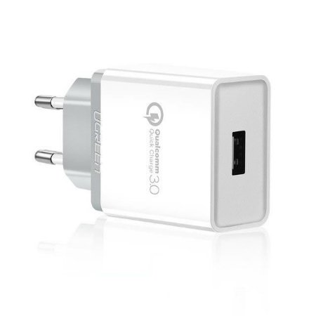 Carregador Turbo Qualcomm Quick Charger 3.0 18W - Ugreen