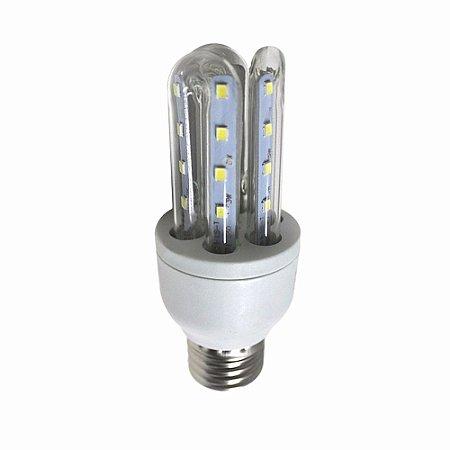 Lâmpada De Led 3U 7W E27 Bi-Volt 6000k