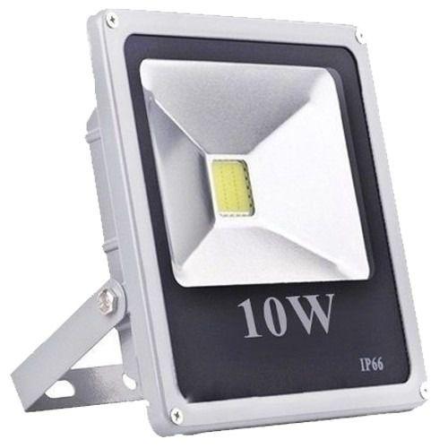 Refletor De Led Holofote Branco Frio 10w - Bivolt 110/220v