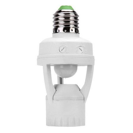 Sensor De Presença Soquete E27 Para Lâmpadas