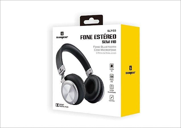 Fone De Ouvido Bluetooth - Sumexr SLY-03